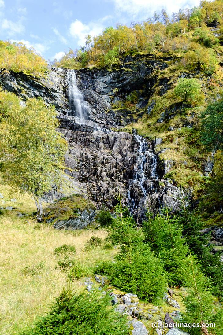 Berge falls by joerimages