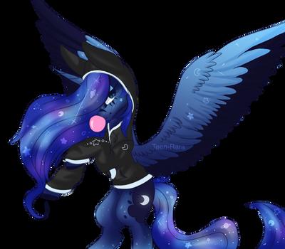 Bubblegum Luna by Zephyrii