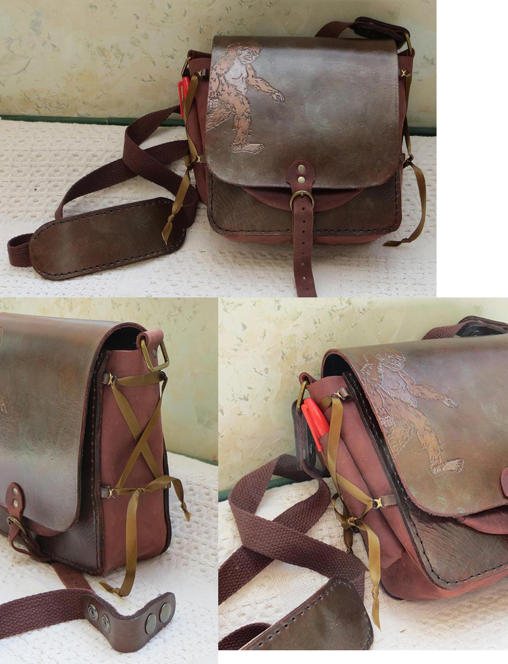 Sasquatch Field Bag by danaan-dewyk