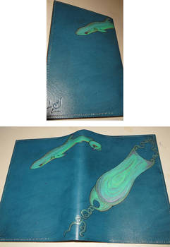 Shark notebook cover