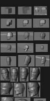 3D face tutorial