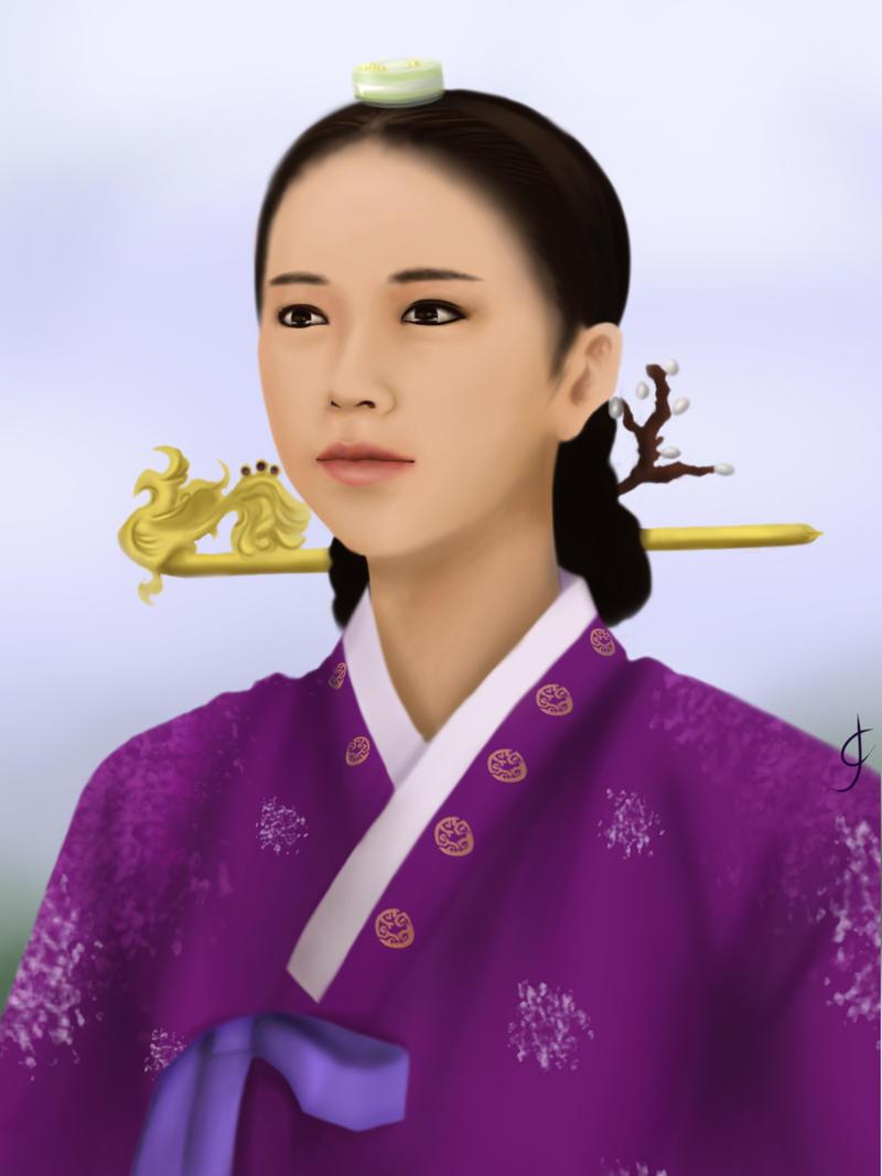 Dong Yi - Lady Suk Won by alanna11