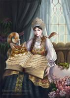 Russian Maria-tsarevna by Ukitoki