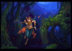 the fireflies by Ukitoki