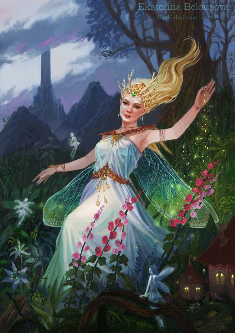 Fairy queen by Ukitoki