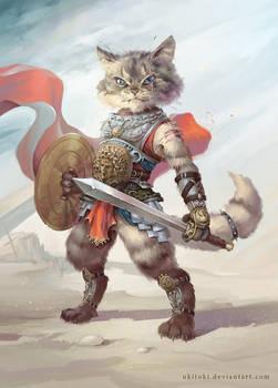 Cat Gladiator