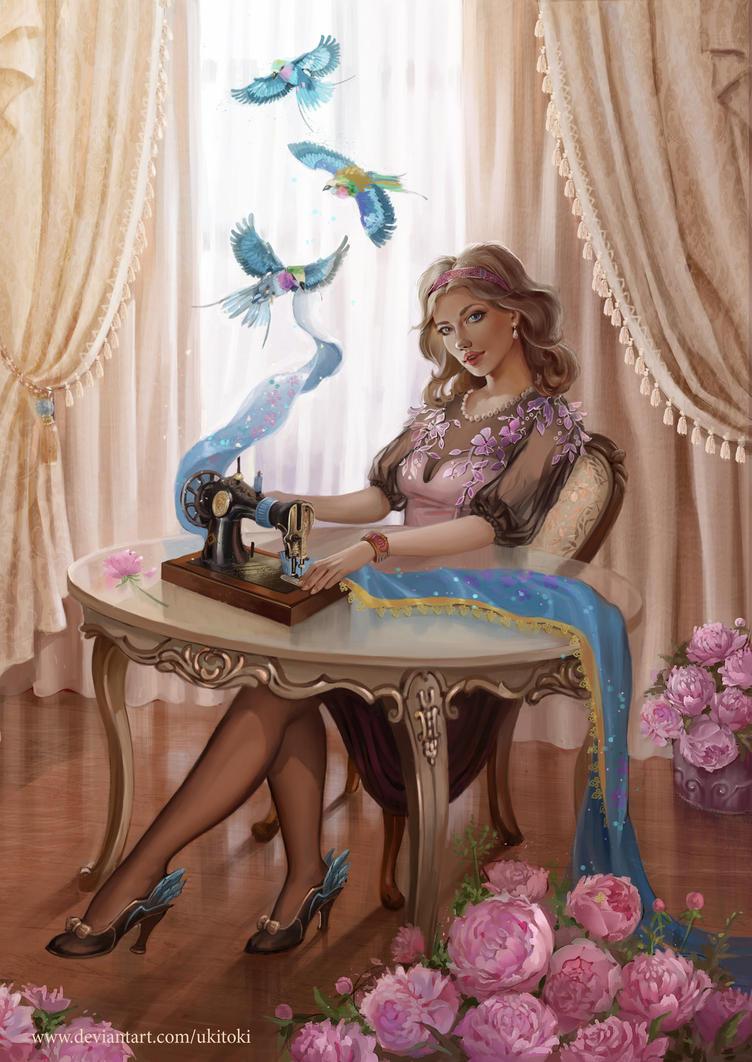 Seamstress by Ukitoki