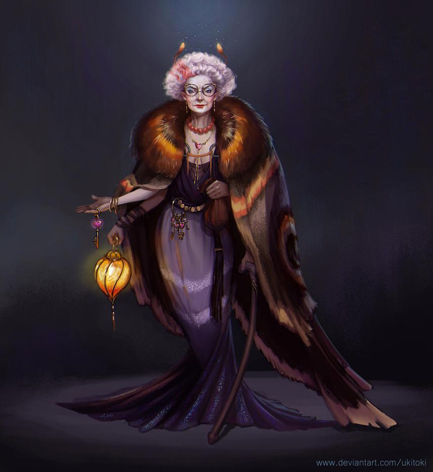 Mistress of a brothel by Ukitoki