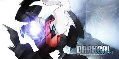 Darkrai, the wicked by monsieurskater