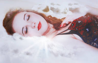 A Pillow of Clouds by la-nynx