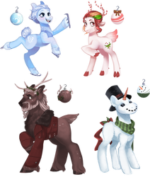Christmas Designs (not open) by KingBalberith