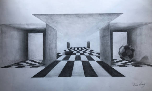 Working with perspective.