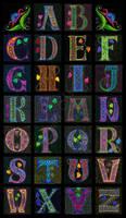 .: Celtic Alphabet :.
