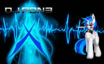 MLP:FiM DJ Vinyl 'Pon3' Scratch Wallpaper