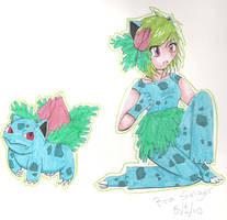Ivysaur by Electric-pikachu