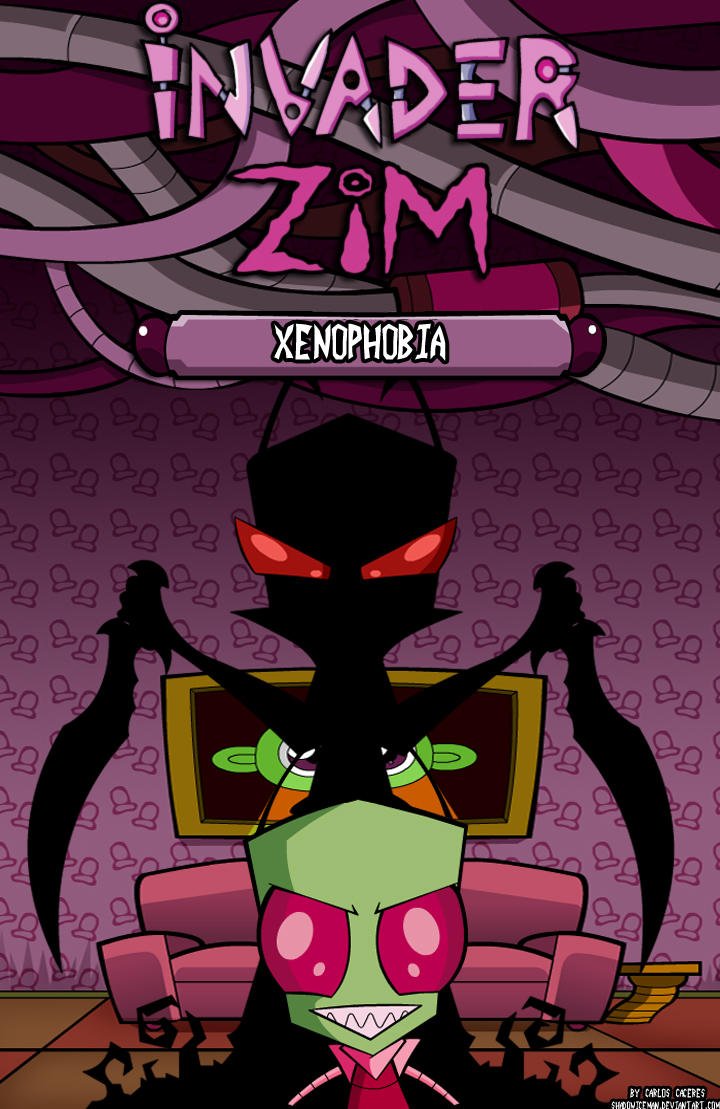 Invader Zim Fan Comics Xenophobia-Invader Zim...