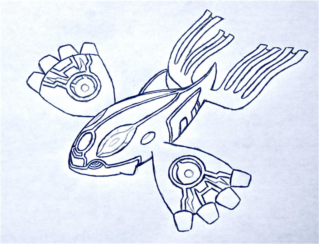 primal kyogre pokemon coloring pages - photo#23