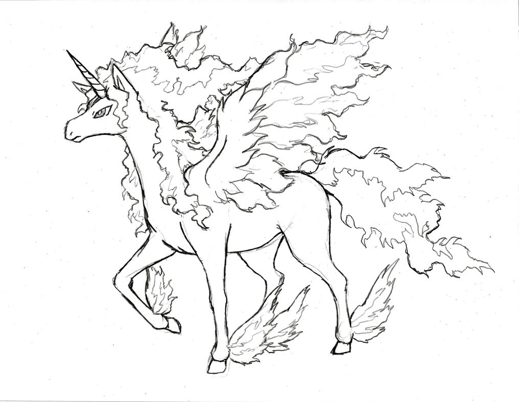 Pokemon Rapidash Mega Evolution