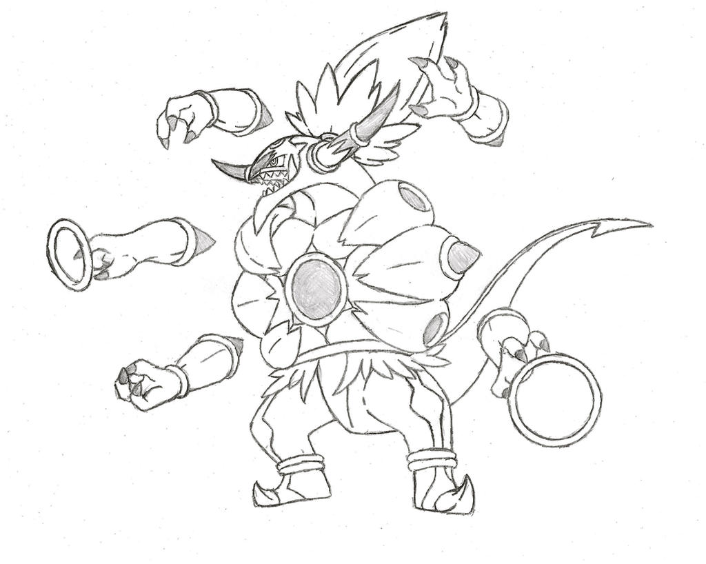 Hoopa Pokemon Coloring Pages Pokemon Hoopa Pokemon Coloring Pages