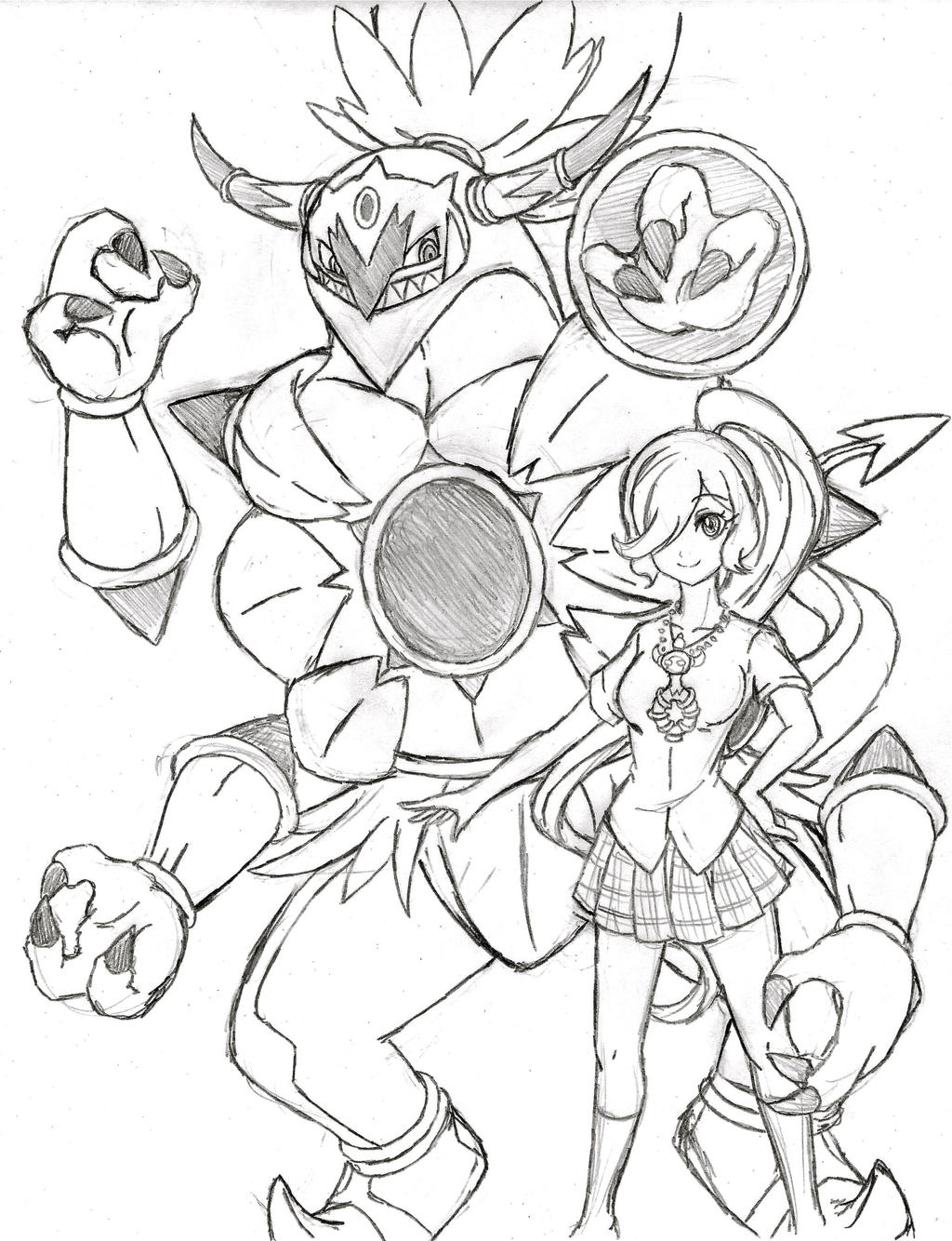 my friend hoopa cont by xxd17 on deviantart