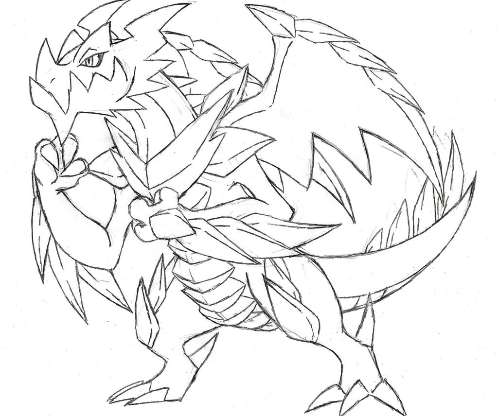 Project Fakemon: Mega Druddigon by XXD17 on DeviantArt