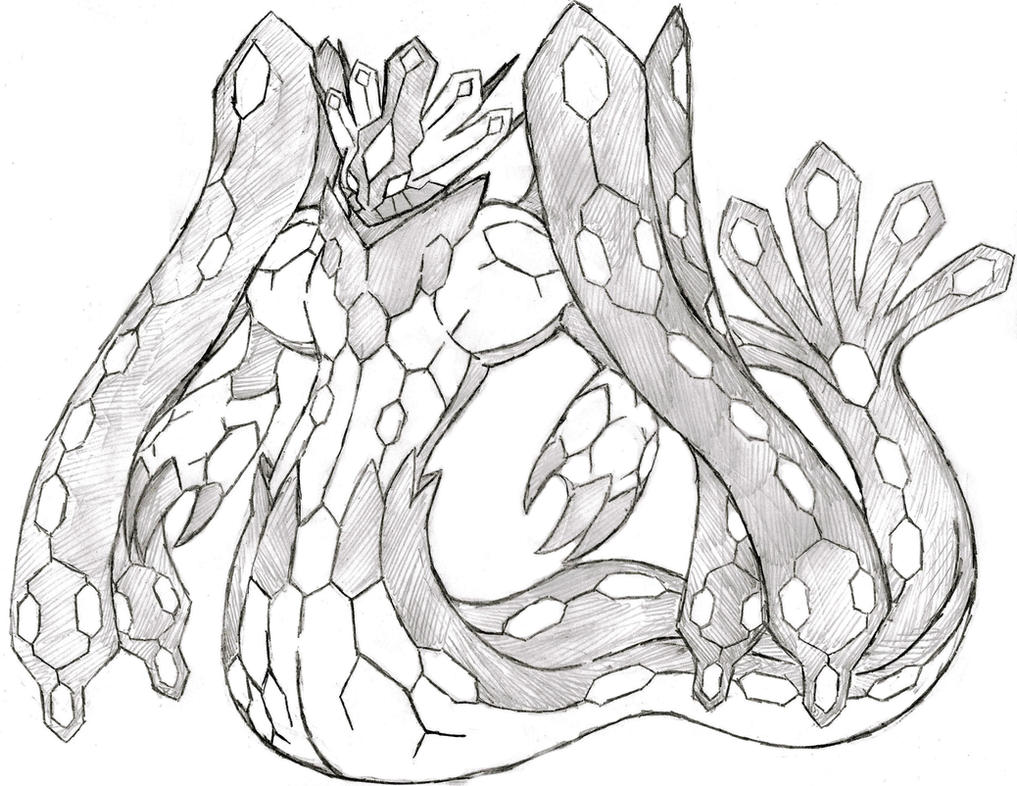 Project Fakemon: Zygarde forme by XXD17 on DeviantArt