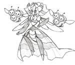 Project Fakemon: Mega Vespiquen
