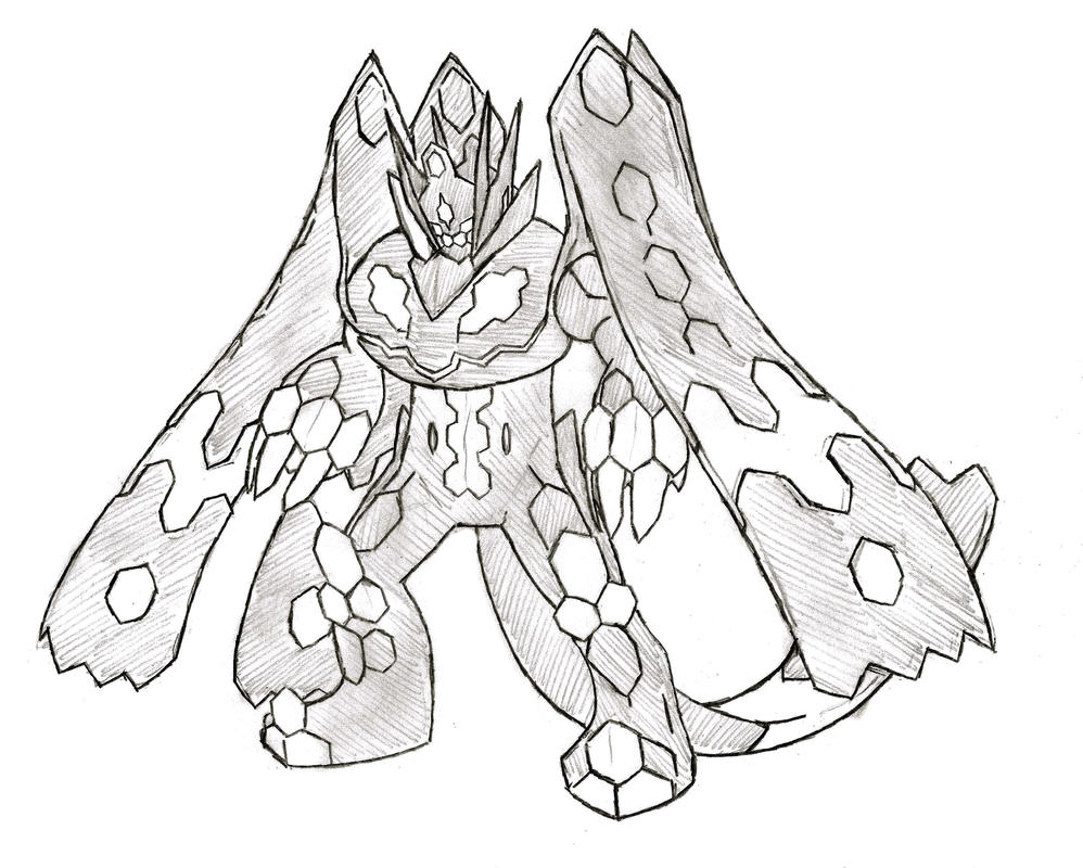 Zygarde Perfect Forme by XXD17 on DeviantArt