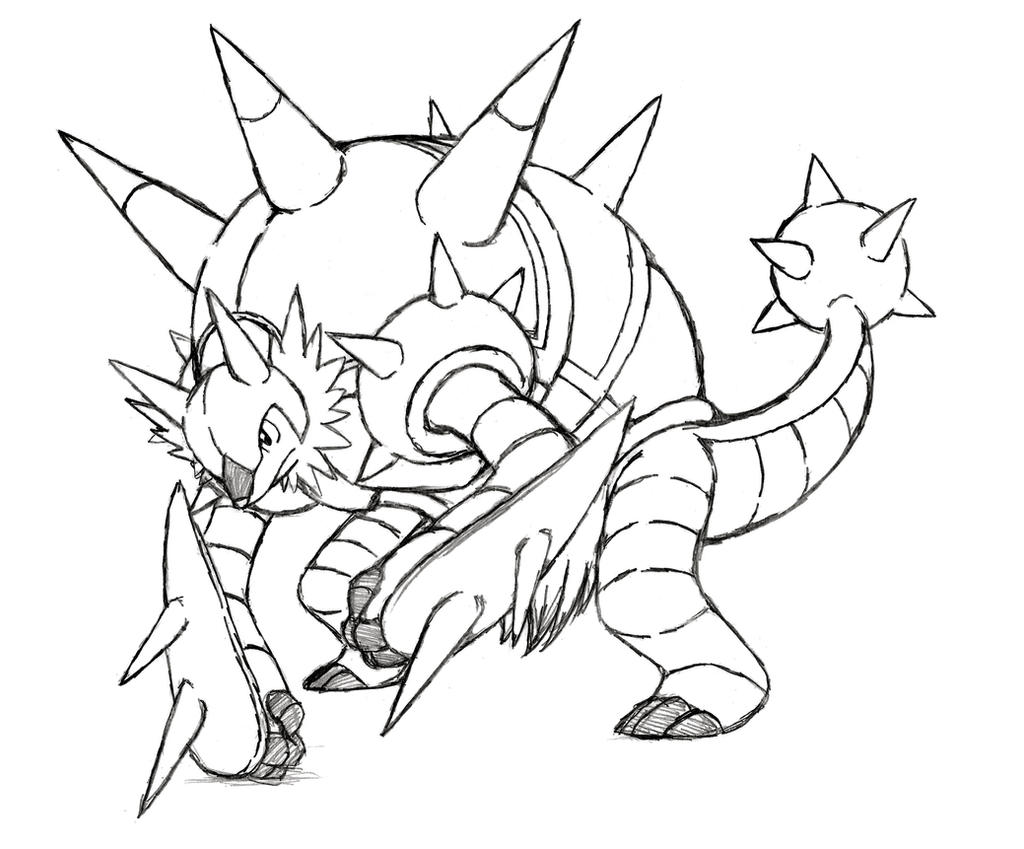 project fakemon mega chesnaught by xxd17 on deviantart