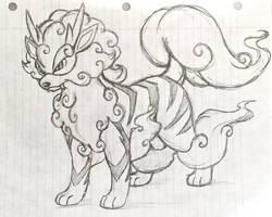 Project Fakemon: Arcanine (Alolan Form)