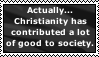 Christianity and society