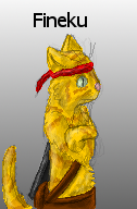 Character card (Ninja cat) by Colliequest