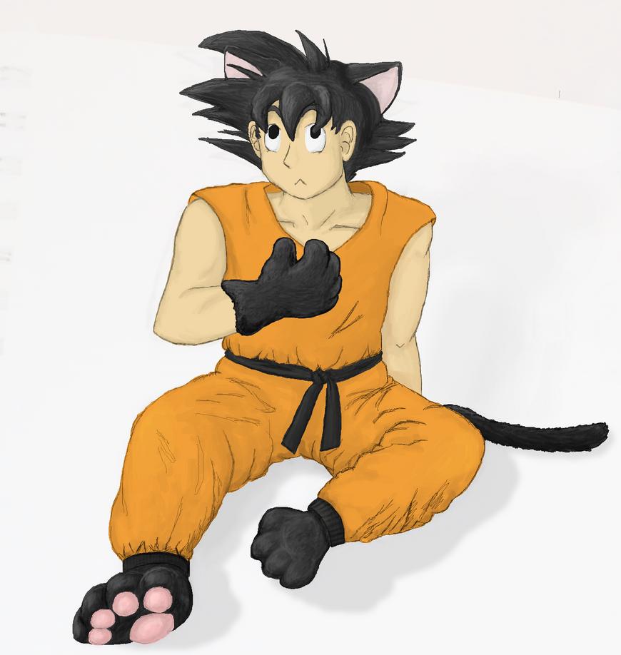 neko Goku by Colliequest