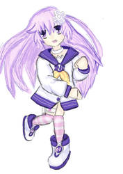 Nepgear in Medibang by Colliequest