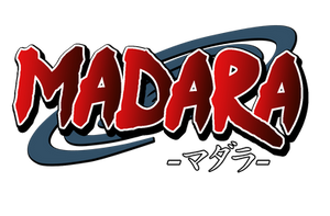 Madara series logo by Jeth-Villar