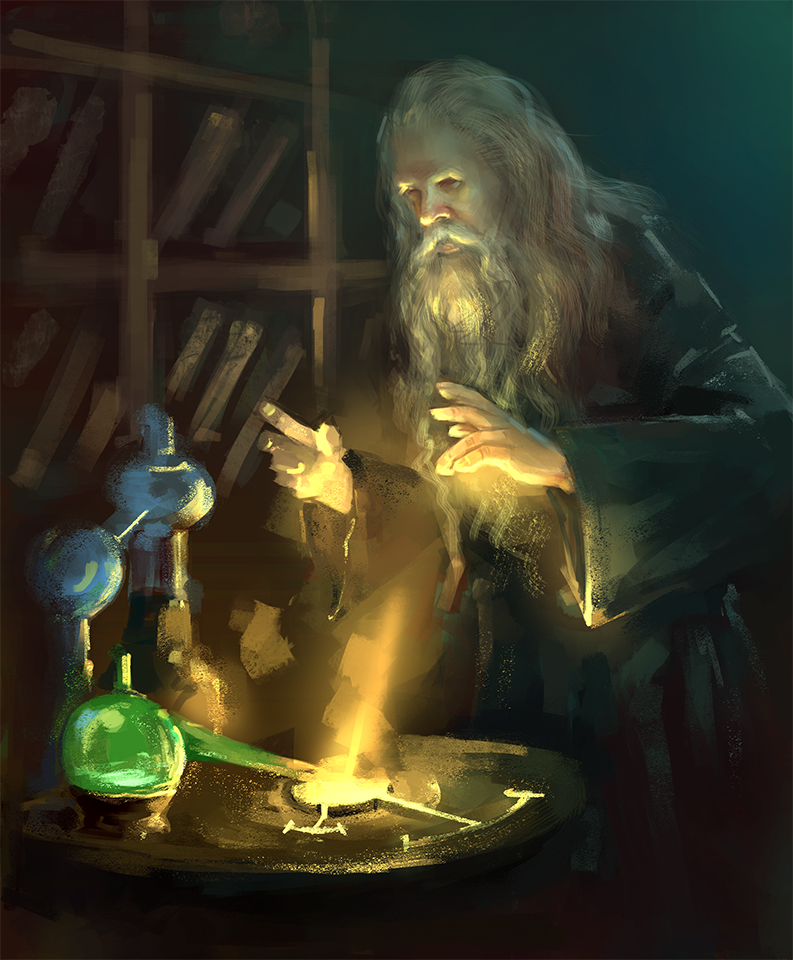 Old Alchemist by daimoc-art on DeviantArt