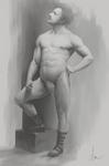 Figure Study - Model: Eugen Sandow by daimoc-art