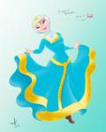 happy dress merida