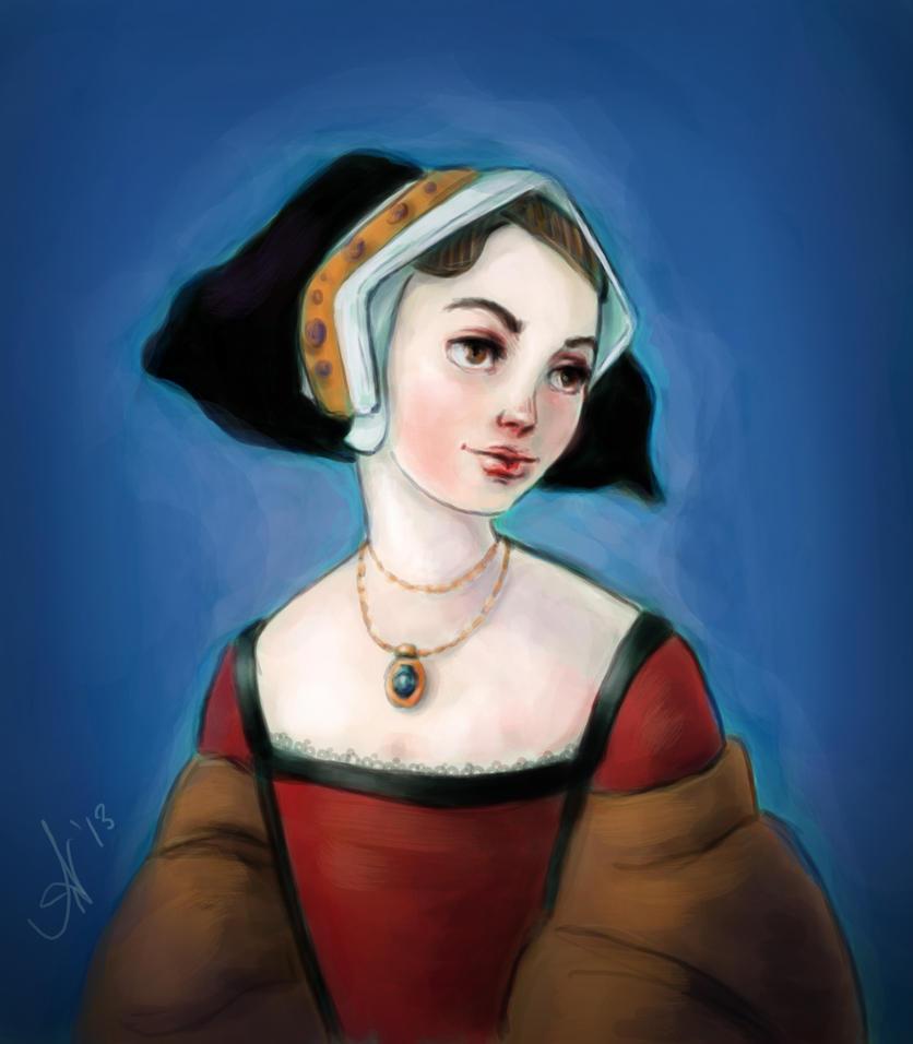 Tudor Lady by kayananas