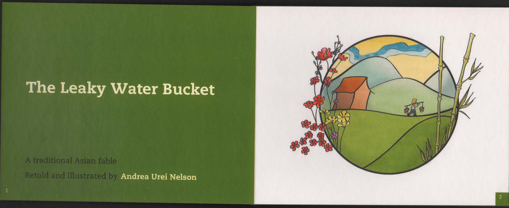 Leaky Water Bucket Title Page by kayananas