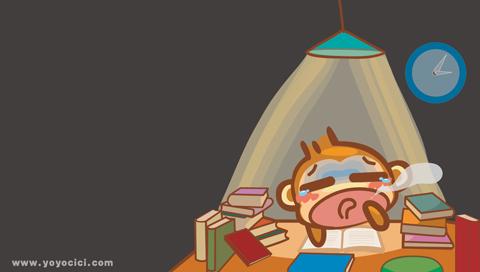sleep Vs study by devils666