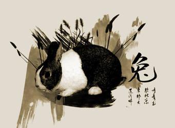 Rabbit Chinese Zodiac by devils666