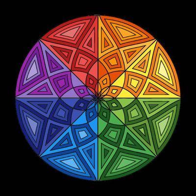 color wheel by Devilgirl007