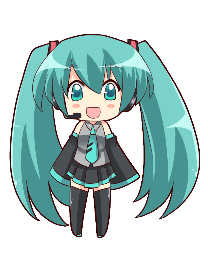 Chibi Miku By Moe Love Chu