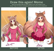 Draw this again ~ by Luludia