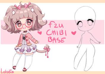 Free to use CHIBI BASE ~ by Luludia