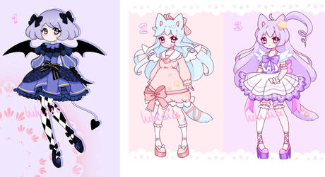 [CLOSED] Leftover adopts ~ by Luludia