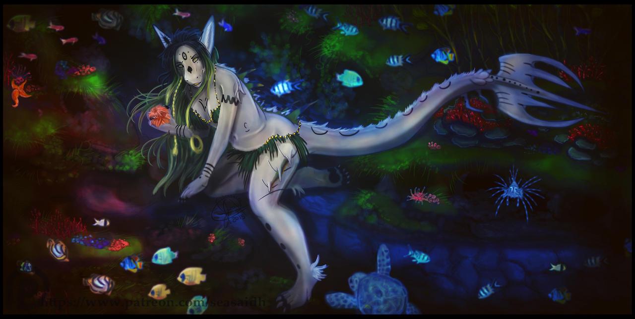 Ferrah Under the Sea by seasaidh