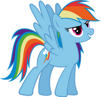 Rainbow Dash - Bravery by Ocarina0fTimelord
