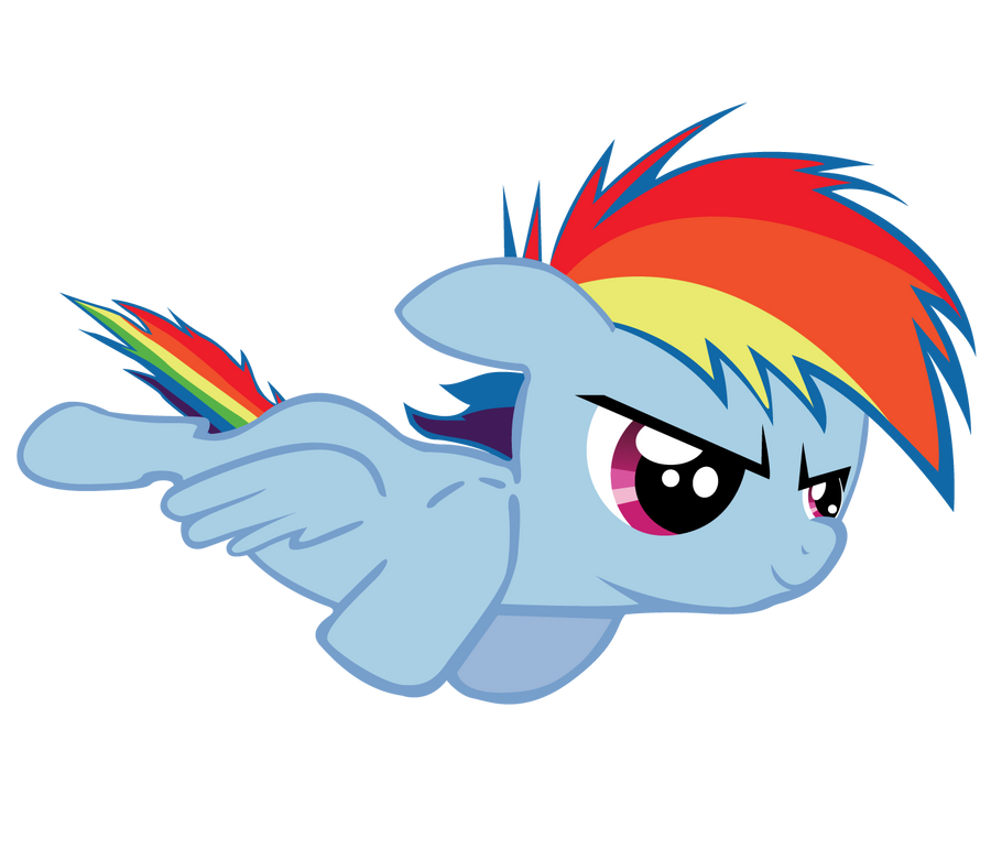 Rainbow Dash Filly and Foal - Mane 6 fillies - Fimfiction
